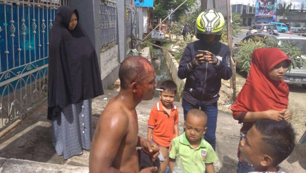 Pedagang Jadi Korban Atas Tindakan Pengeroyokan Anggota Satpol PP