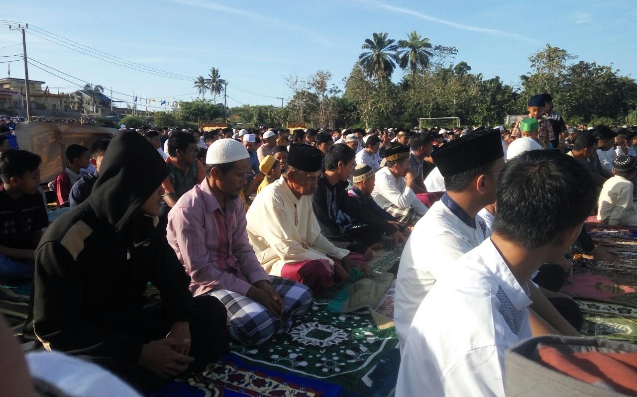 Shalat Ied Gabungan Rukun Islam