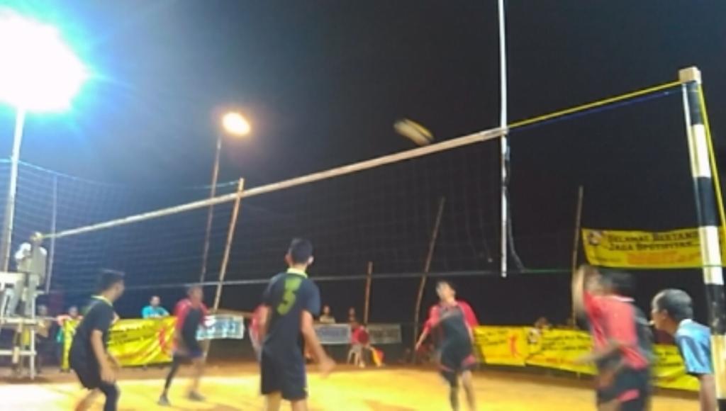 Kembangkan Bakat, Langon Adakan Turnamen Bola Volly