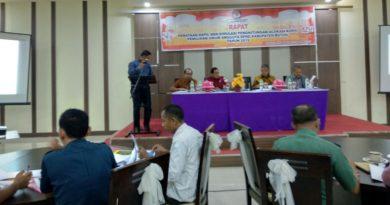 Suasana rapat penataan dapil dan simulasi perhitungan Kursi untuk Pemilu 2019
