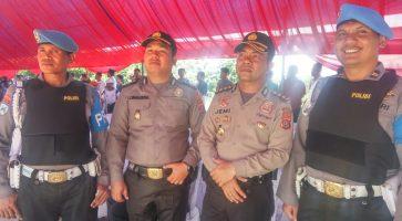Polres Kendari Turunkan 400 Personil Amankan Pendaftaran Cagub Sultra