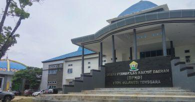 Gedung Baru DPRD Sultra Mulai Difungsikan