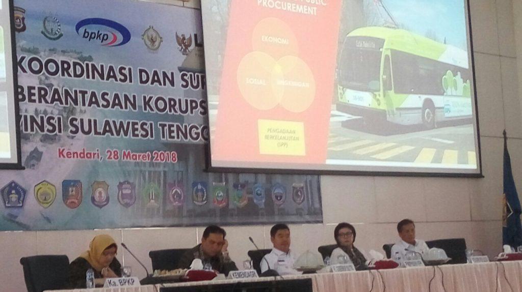 Ciptakan Bisnis Berintegritas, KPK Inisiasi Pembentukan Komisi Advokasi Daerah Sulawesi Tenggara