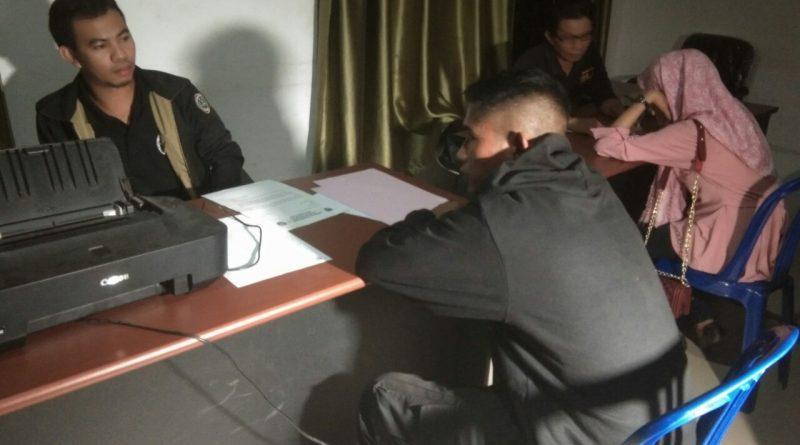 Oknum Security Kena Razia Dengan Selingkuhannya di Kamar Hotel