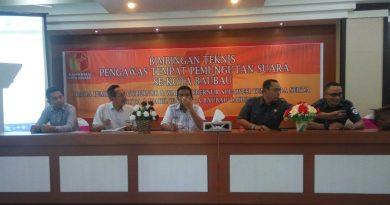 Bintek Pengawas TPS Resmi Dibuka, Ini Pesan Pj Wali Kota Bau - bau