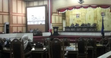Sidang paripurna Penjelasan Gubernur Terkait KUA PPAS Perubahan APBD 2018