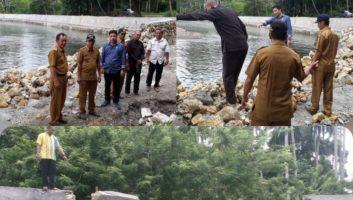 Talut Sungai Waturai Roboh, Dinas PU Enggan Menghadiri RDP di DPRD Konkep