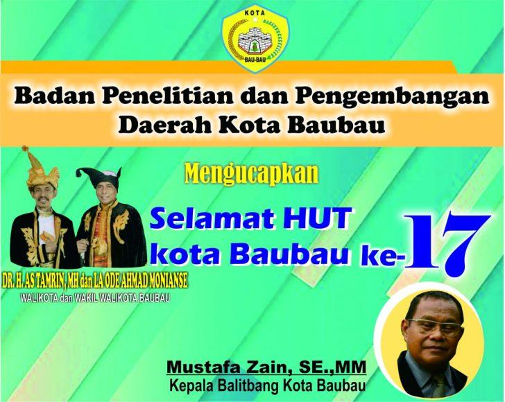 Iklan HUT Baubau Balitban (1)