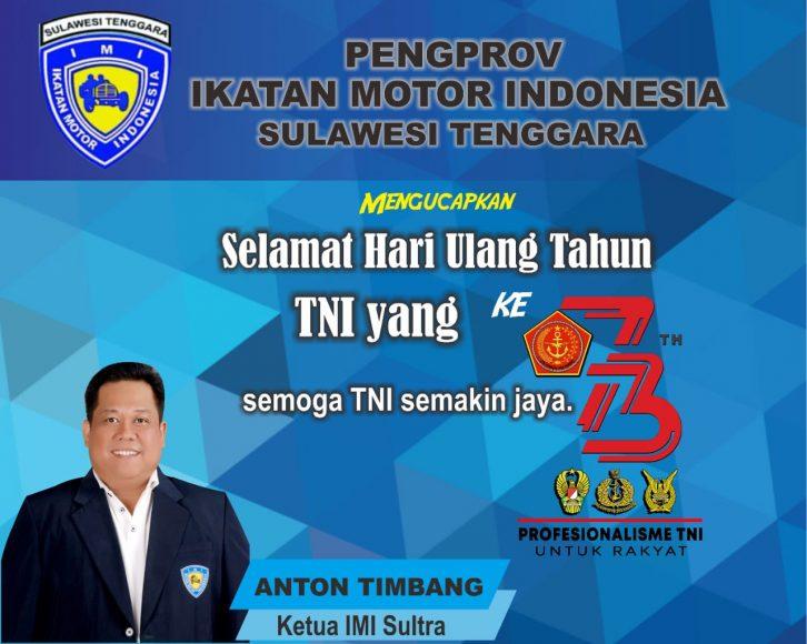 Iklan IMI HUT TNI 73
