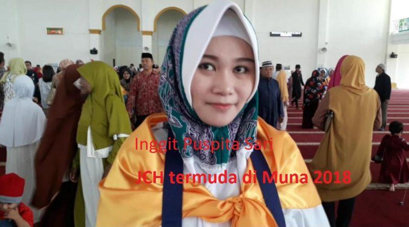 Inggit Puspita Sari 22 Tahun, Usia Termuda Jemaah Calon Haji Muna