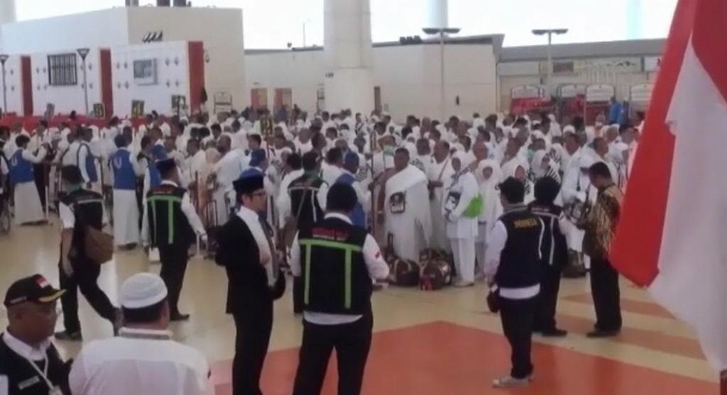 Jamaah Haji Indonesia mulai dipulangkan dari tanah suci Mekkah. FOTO : IST