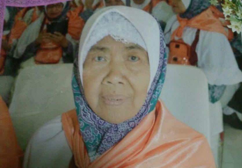 Jumra Umar Binti Dg. Pawinru Jamaah haji asal kabupaten Kolaka yang meninggal di Mekkah. FOTO : IST