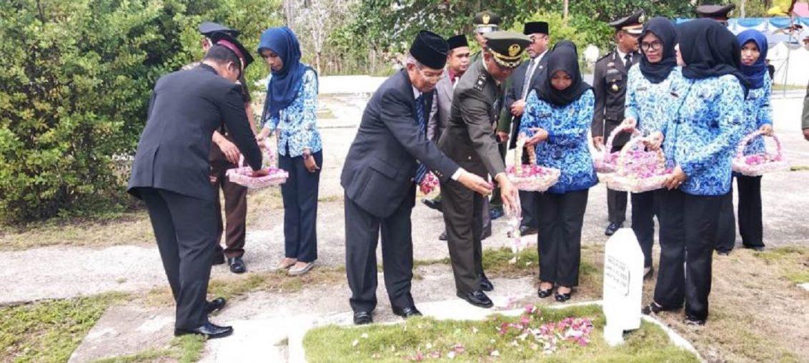 Ini Pesan Ketua DPRD Baubau di Hari Pahlawan ke 73