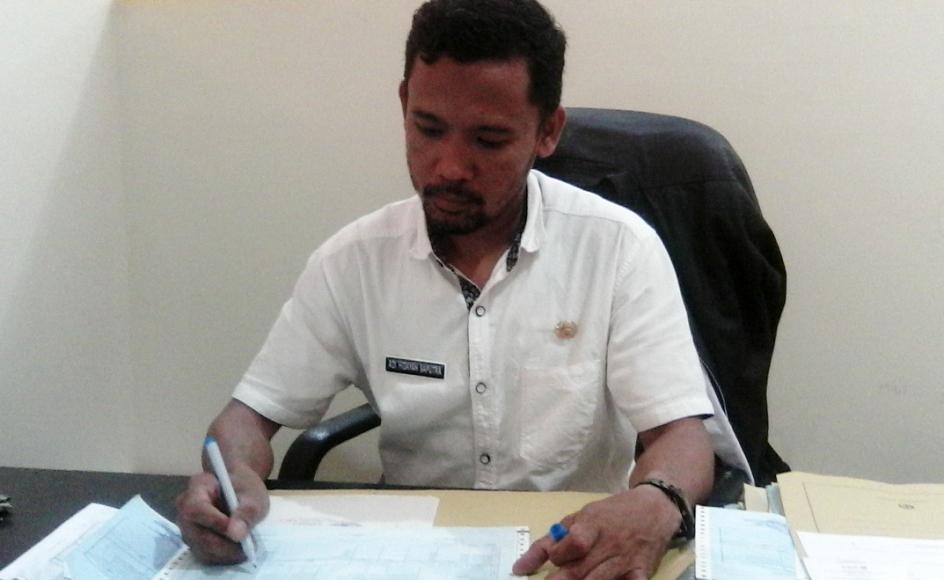 Adi Hidayah, Kepala Bagian Data Disdukcapil Kota Parepare FOTO ; JERI