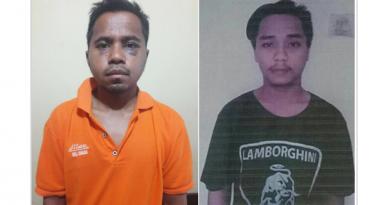 Dua Tahanan Polsek Kabur