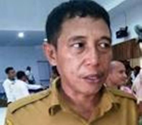 Kepala Dinas PU Konawe Utara yang dituding melakukan tindak pidana korupsi uang ganti rugi tanah untuk kepentingan pencalonannya di Konaw. FOTO ; INT