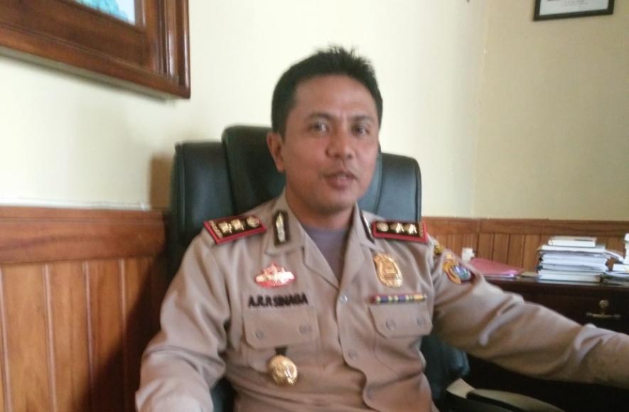 Kapolres Muna AKBP Agung Ramos Paretongan Sinaga. FOTO : ROS