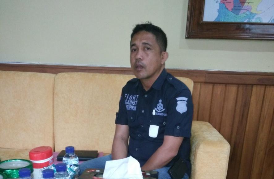 Kasat Reskrim Polres Muna Iptu Fitrayadi,S.Sos,SH. FOTO : ROS
