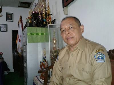 Kepala SMP Negeri 1 Bantaeng Santosa. FOTO : SYAMSUDDIN