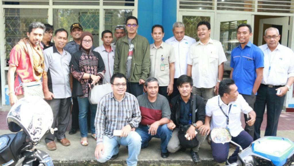 Jubir KPK Silaturahmi ke Kantor PWI Sultra