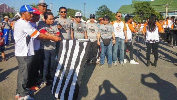 KPU Sultra Gelar Jalan Santai Sadar Pemilu