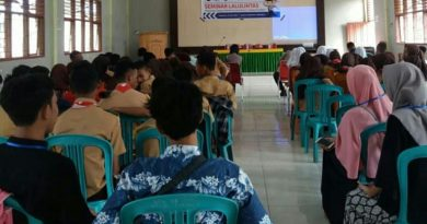 Himpunan Mahasiswa Samaturu Gelar Seminar Lalu Lintas