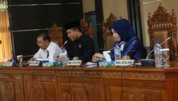 DPRD Bersama Pemda Konsel Duduk Bersama Bahas 8 Raperda