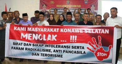 Gelar FGD, Pemda dan Polres Konsel Kompak Tangkal Faham Radikalisme