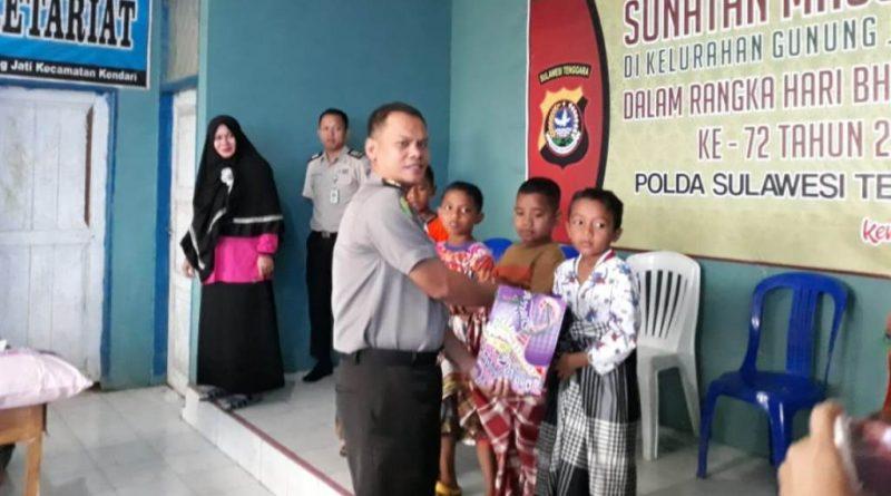 Video, RS Bhayangkara Kendari Gelar Sunatan Massal