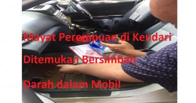 Video, Mayat Perempuan di Kendari Ditemukan Bersimbah Darah dalam Mobil