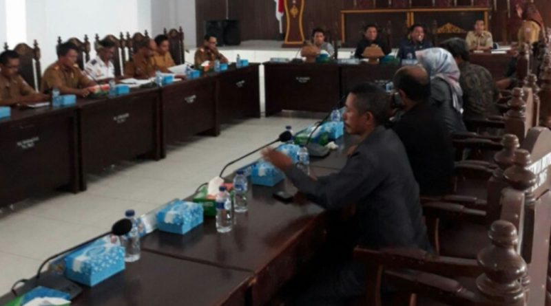 DPRD Butur Gelar Rapat Singkronisasi Bahas 9 Raperda