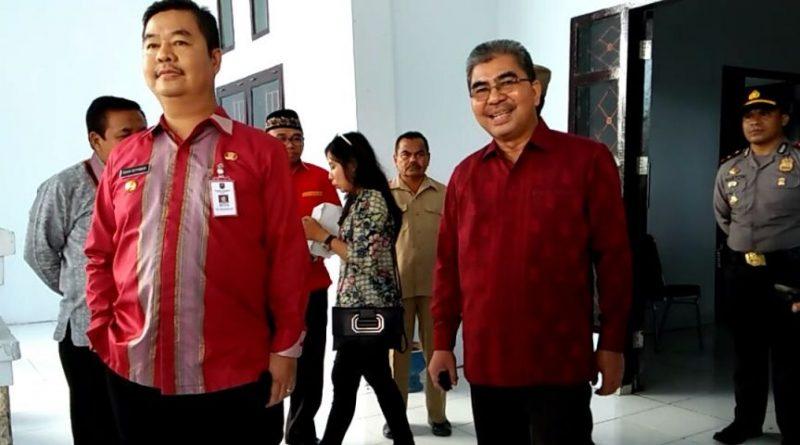 Abu Hasan Bantah, SoPj Gubernur Sultra Inspeksi Mendadak Kontor Bupati di Burangaal Isu Pembiaran Kantor Bupati Di Buranga