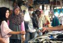 Istri Rusda Mahmud Blusukan Ke Pasar, Ini Curhatan Pedagang