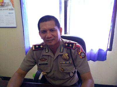 Kepala kepolisian Resor (Polsek) Poasia, Komisaris Polisi (Kompol) Haeruddin S. Sos. FOTO : ONNO