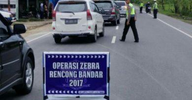 Operasi Zebra Rencong 2017, Satlantas Polres Aceh Timur Tilang 515 Pengendara