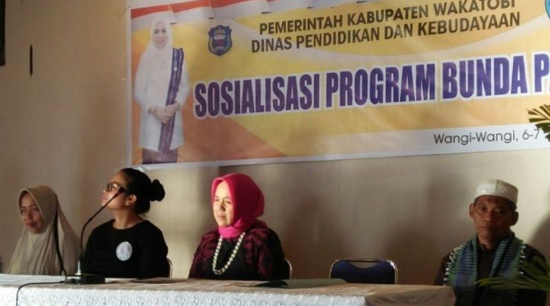Disdikbud Wakatobi Gelar Sosialisasi Paud