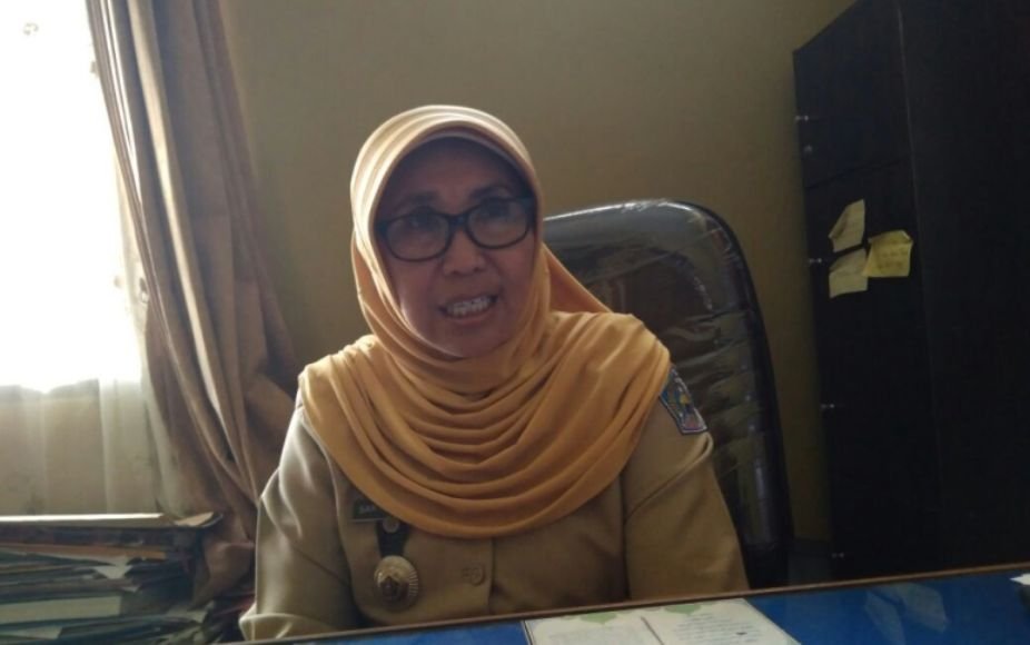 Plt Kepala Dinas Pendidikan Kota Kendari Sartini Sarita. FOTO : LARASMITA