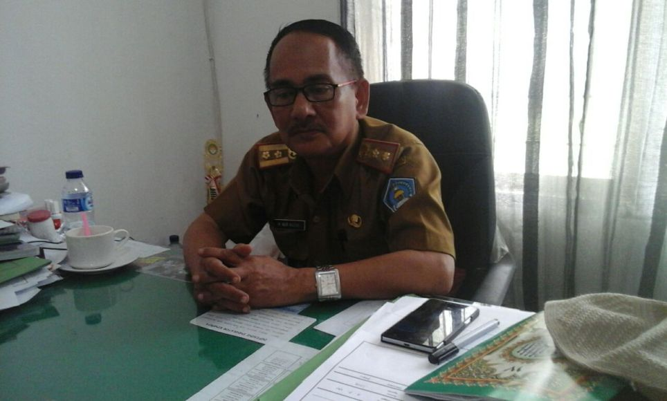 Plt Kepala DLHK Kendari, Drs Moh Nur Razak FOTO : LARASMITA