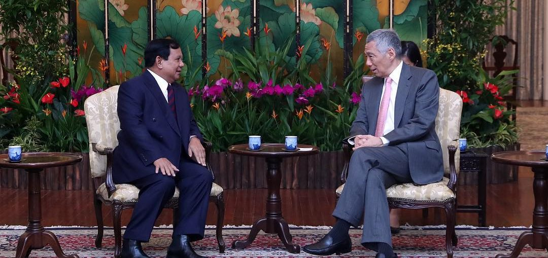 PM Singapura Doakan Terbaik untuk Prabowo Subianto di Pilpres 2019