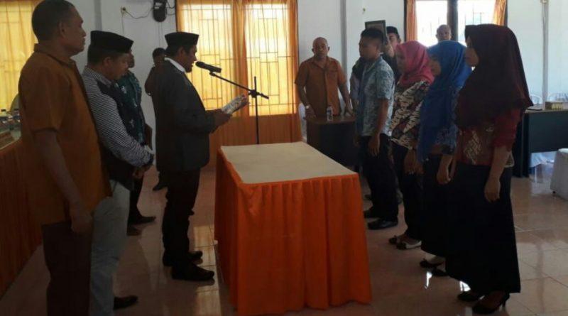 Empat Anggota PPS di Muna Mundur, KPU Lantik Anggota Baru