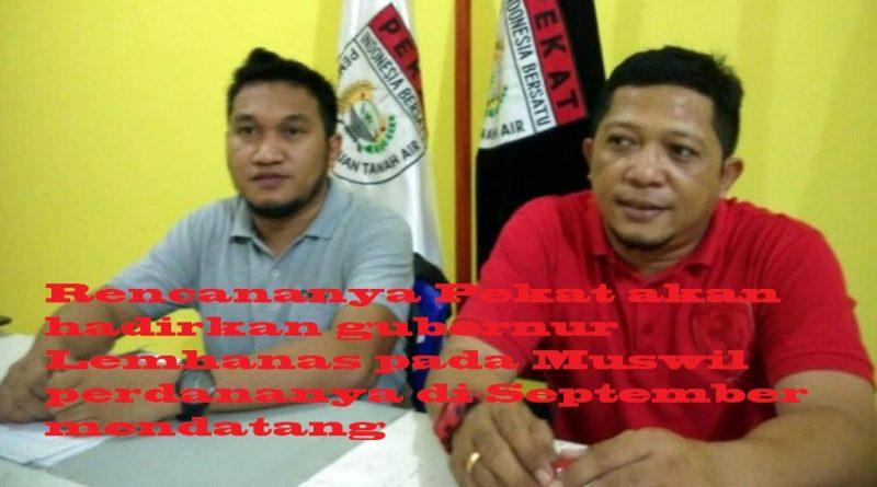 Pembela Kesatuan Sulawesi Tenggara Bakal Gelar Muswil Perdana