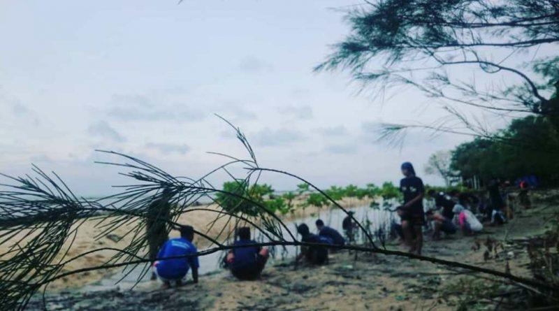 Mapala Arga Dahana Tanam Mangrove di Pulau Panjang