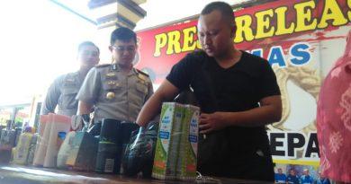 Setelah 18 Kali Beraksi, Erik Si Spesialis Pengutil Minimarket Dicokok Polisi