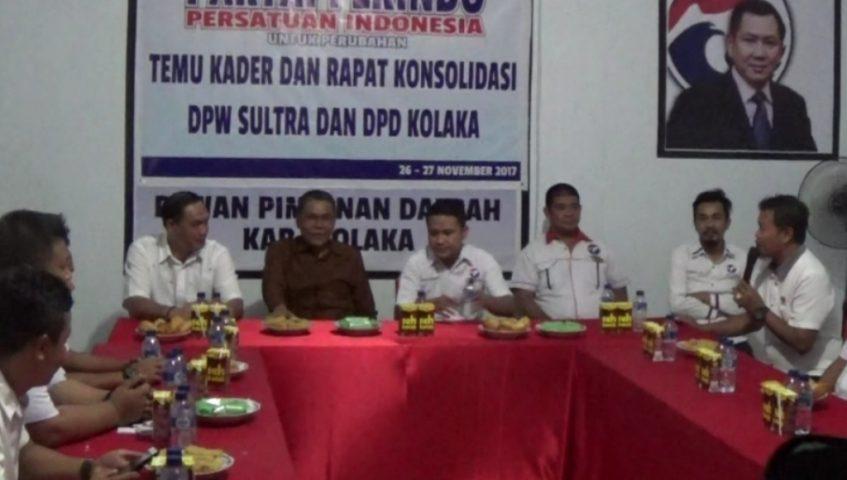 Temu Kader DPW dan DPD Perindo Dihadiri Bupati dan Wakil Bupati Kolaka