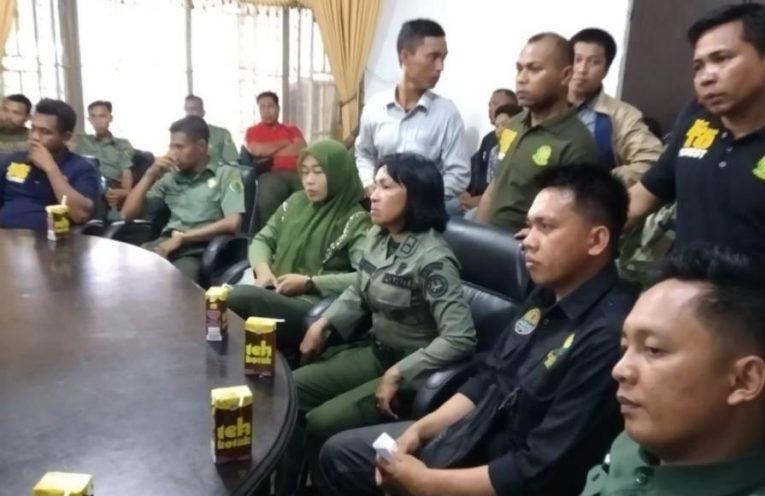 Video : Ratusan Polisi HUT Tuntut Kejelasan Status Honorer