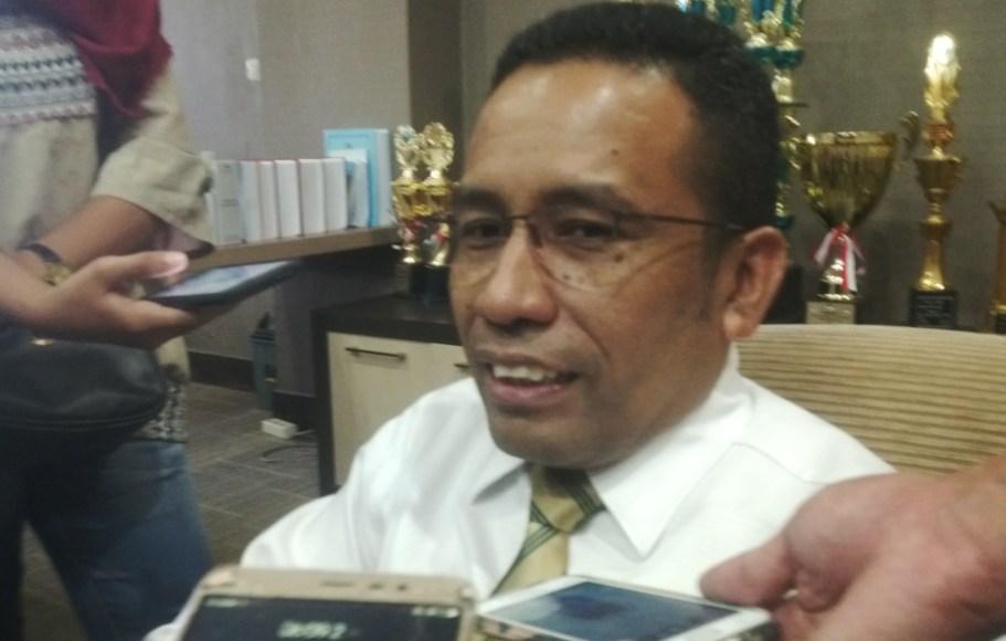Rektor UHO DR. Muh. Zamrun. FOTO : BAIM