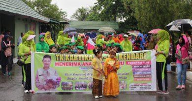 Parade Sekolah Yayasan Kartika Jaya Berlangsung Meriah