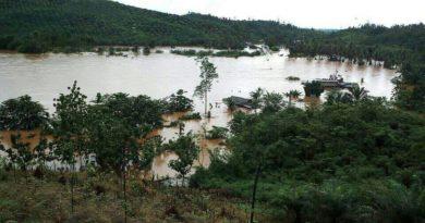 22 Rumah Desa Polora Indah Konut Terendam Banjir