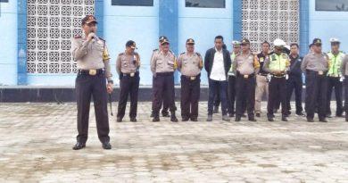 Pengamanan Malam Takbiran Polres Konawe Turunkan 127 Personil