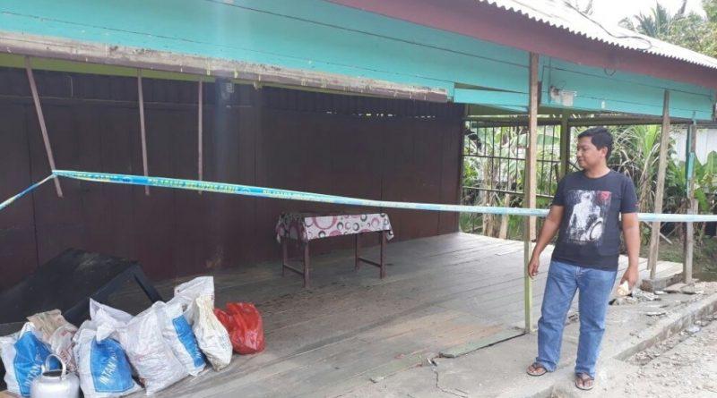 BNN RI Ganti Rugi Rumah Yang Diseruduk Mobil Pembawa 30 Kg Sabu